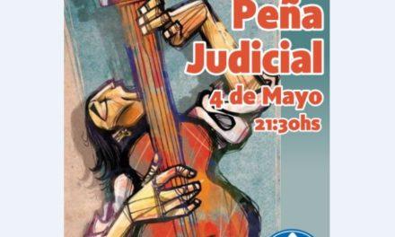 GRAN PEÑA JUDICIAL PARA FESTEJAR EL DÍA DEL TRABAJADOR