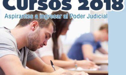CURSO PARA ASPIRANTES A INGRESAR AL PODER JUDICIAL