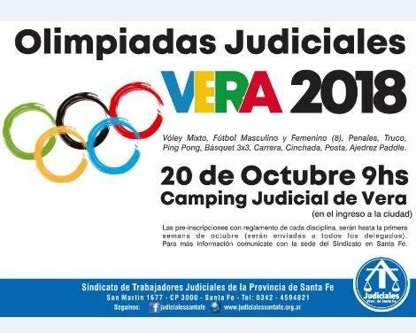 OLIMPIADAS JUDICIALES VERA 2018