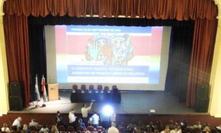 III CONGRESO SINDICAL INTERNACIONAL AMBIENTES DE TRABAJO LIBRES DE VIOLENCIA