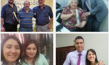 IMÁGENES DE CUMPLEAÑEROS QUE RECIBIERON SU OBSEQUIO