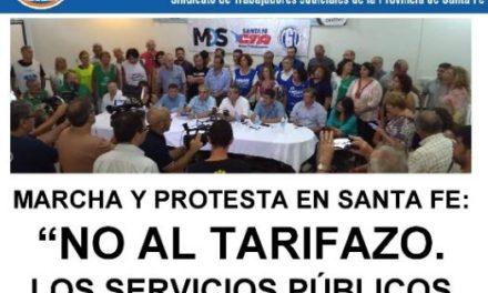 MARCHA Y PROTESTA CONTRA LOS TARIFAZOS