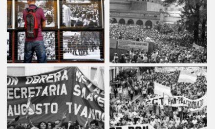 MUESTRA FOTOGRÁFICA: «MARCHA PAZ, PAN Y TRABAJO»
