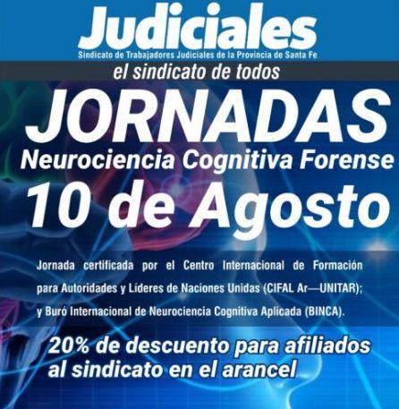 Reserva de Vacante: Jornadas de Neurociencia Cognitiva Forense