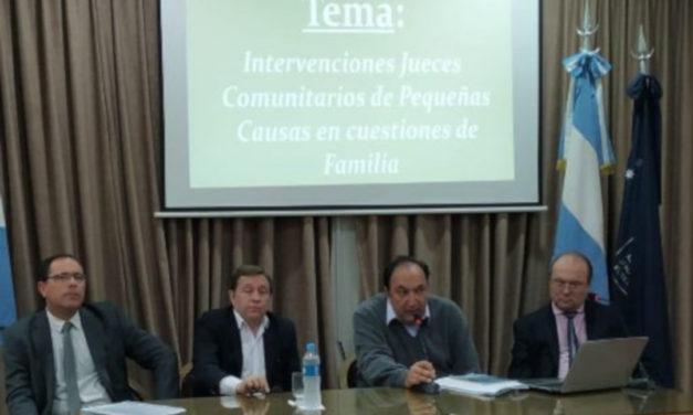 TALLER DE FAMILIA Y CERTIFICACIONES EN LAS LOCALIDADES DE RAFAELA Y VERA