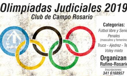 OLIMPIADAS JUDICIALES 2019: OTRA MANERA DE ENTENDER EL DEPORTE