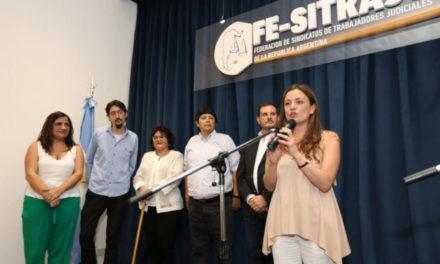 INAUGURACIÓN DE LA SEDE DEL SINDICATO DE TRABAJADORES JUDICIALES DE CABA