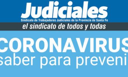 CORONAVIRUS: CONSULTAS Y DENUNCIAS