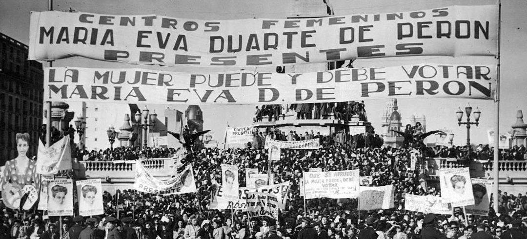 DERECHOS POLÍTICOS DE LA MUJER: PROMULGACIÓN DE LA LEY DE VOTO FEMENINO