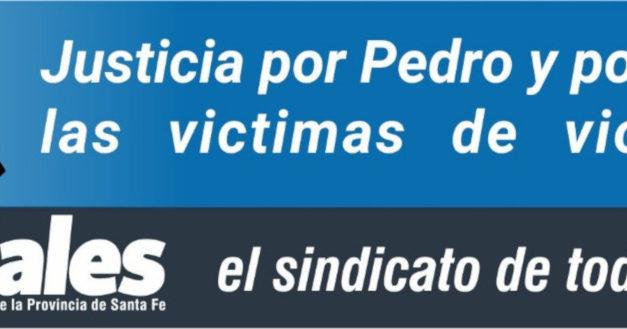 JUSTICIA POR PEDRO Y POR TODAS LAS VICTIMAS DE VIOLENCIA