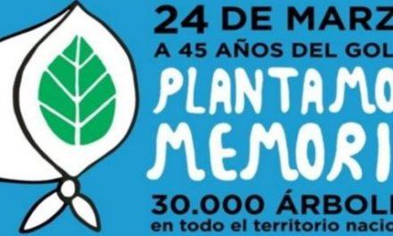 24 DE MARZO: A 45 AÑOS DEL GOLPE – PLANTAMOS MEMORIA