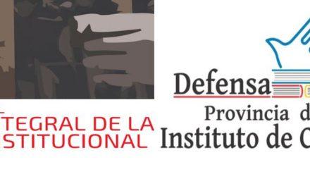 SEMINARIO ANUAL «ABORDAJE INTEGRAL DE LA VIOLENCIA INSTITUCIONAL»